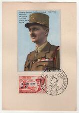1957 ALGIERS ALGERIA PC Postcard GENERAL LECLERC France FRENCH Military CANCELS