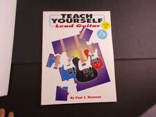 * how to Teach Your Self -Lead Guitar Songbook with Cd
