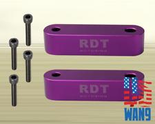 Purple JDM Hood Spacer Risers Aluminum for Honda & Acura EG EK DC2 EJ EF