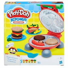 Game Playdoh Play Doh The Burger Fast Food Set Plasticine Hasbro