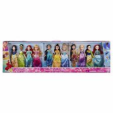 Disney Princess Shimmering Dreams Collection Doll Set - 11 Pieces