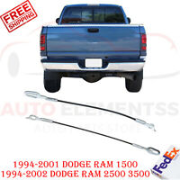 38535 Pair Tailgate Cable Lift Support Strap 55345125AB For Dodge Ram Pickup