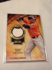 2017 Topps Tier One Yulieski Gurriel Astros Jersey /331 Rc 2 Available