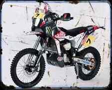 Husqvarna Te 449 Rr 2 A4 Metal Sign Motorbike Vintage Aged