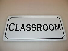 CLASSROOM Metal Sign 4 SCHOOL Business Costume Cosplay Girls Clubware