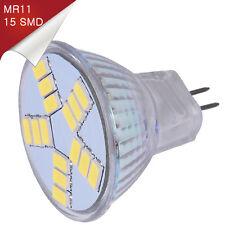 Bombilla Dicroico LED MR11 15 SMD 5730 Blanco Puro 12V - Únicamente 6W