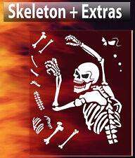 Skull 32 Airbrush Stencil Spray Vision Template air brush