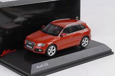 2013 Audi Q5 SUV red metallic vulkanorot 1:43 Schuco