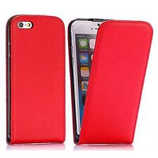 Handy Hülle Flip Case für iPhone 6 / 6s Cover Schutz Hülle Tasche Case Etui Rot