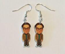 Leonard Earrings Big Bang Theory Charms