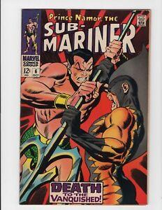 Sub-Mariner #6 #7 Marvel  Tiger Shark LOT 2 Marvel Comics