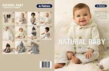 Patons Knitting Pattern No. 1315 Natural Baby 11 Designs Sizes 0-18 Months