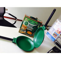 Pop As Seen on TV Flip Jack Pancake maker Green Ceramic NonStick Cookware Pan