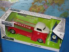 1/24 JADA JUST TRUCKS 1947 FORD COE FIRESTONE 4 X EXTRA WHEEL DIECAST BRAND NEW
