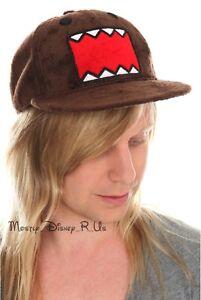 Plush Fur Domo Hat Baseball Hat Cap NEW Size L/XL Snapback Fitted NEW