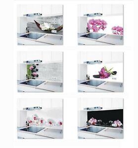 Küchenrückwand pflegeleicht fugenlos 1000 Motive Spritzschutz Acrylglas #3656