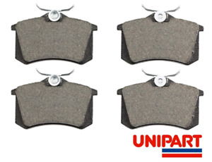 For Nissan - Note 2006-2012 1.5 DCi 1.4 1.6 (E11, NE11) Rear Brake Pads Unipart
