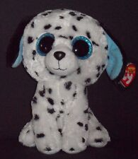 """TY BEANIE BOOS - FETCH the 9"""" DALMATIAN - MINT with MINT TAGS - GLITTER EYES"""