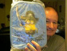 DISNEY DESPICABLE ME WALK THE PLANK BACKPACK PERFECT GIFT! FREE UK POST