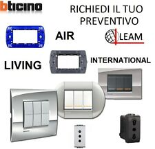 PREVENTIVO MATERIALE ELETTRICO  BTICINO LIVING LIGHT TECH INTERN. AIR