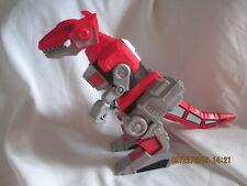 Red T-Rex Zord Dinosaur Imaginext Mattel Mighty Morphin Power Rangers 2015