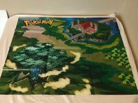 Pokemon World of Pokemon Jakks Pacific Playmat Mat Playset Plastic Used Folded A