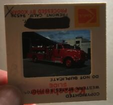 Foto Dia-Positiv Feuerwehr 1954 GMC, VAN Pelt, Healdsburg, CA ENG-3