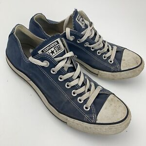 Converse Chuck Taylor All Star Low Size Men 9 Women 11 Size Blue M9697