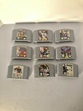 Nintendo 64 lot 9 games pre-owned