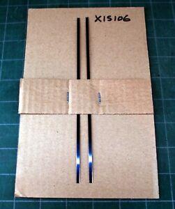 "Flat spring steel for repairing antique door locksets - 2 each of 7"" length"
