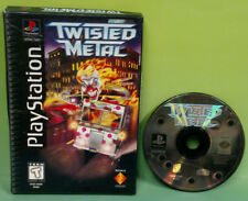 Twisted Metal Long Box Playstation 1 2 PS1 PS2 Rare Game  Black Label