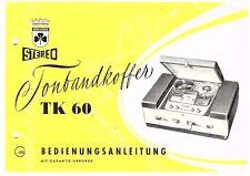 Grundig Bedienungsanleitung für TK 60