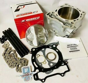 LTZ400 LTZ DRZ 400 Cylinder Stock Bore Top End Rebuild Repair Redo Complete Kit