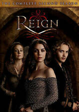 Reign (CW Network) ~ Complete 2nd Second Season 2 Two ~ BRAND NEW 5-DISC DVD SET