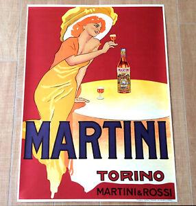 MARTINI TORINO VERMOUTH poster manifesto affiche Dudovich Belle Epoque A63