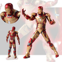 The Avengers Marvel Ironman Iron Man 3 Mark MK 42 XLII Action Figure Figurine
