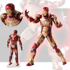 The Avengers Marvel Ironman Iron Man 3 Mark MK 42 XLII Action Figure Figurine