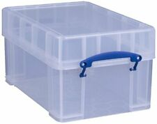 Really Useful Products 9CXL 9L Storage Box - Clear