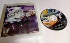 Ridge Racer Unbounded (Sony Playstation 3 ps3) w/ Case Tested