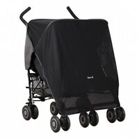 Koo-di Pack It Stroller Sun & Sleep Shade Maker Double Pram Canopy Cover Screen