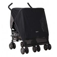 Koo-di Pack It Stroller Sun & Sleep Shade Maker Double Pram Canopy Cover Screen