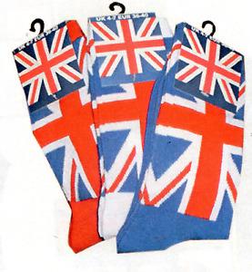 Union Jack Long Socks