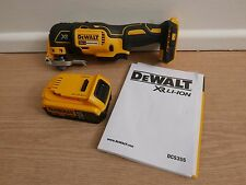 DEWALT DCS355 XR 18v Oscillating Multi Tool Bare Unit