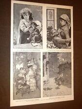 Il Giornale dei fanciulli nel 1886 Barba Bianca, Gianforte, Cordelia e Petrocchi