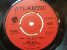 "Percy Sledge – When A Man Loves A Woman 1966 7"" Atlantic 584001"