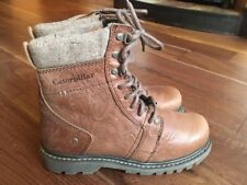 Men's leather winter Caterpillar/CAT boots size 8. Brand new.