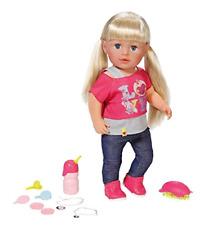 Zapf Creation 820704 - Baby Born Interactive Sister Puppe Beweglich Interaktiv