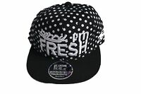 Sorry I'm Fresh snapback caps, hip hop mens & ladies flat peak baseball hats