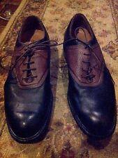 Callaway New Men's Pin Stripe Saddle Golf Shoes M507 - Size 12 (46 EUR)