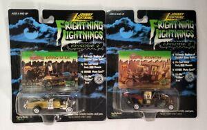 Johnny Lightning Frightning Lightnings Munsters Koach & Drag-u-la SEALED 1999